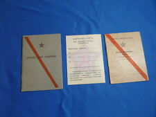 NEW origin Soviet russian Identification Paybook Military ID DOCUMENT army USSR