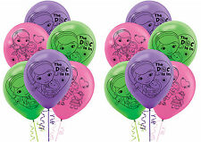 12ct Disney Doc McStuffins Printed Latex Balloons-Birthday Party Supplies Favors