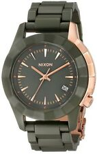 NEW! Nixon Monarch All Surplus / Rose Gold Watch A288 1419 A2881419 in Box!