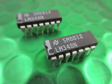 Lm348n OP AMP QUAD General Purpose circuito integrato dip-14 UK STOCK ** 2 per **
