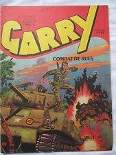 GARRY 142 COMBATS DE  RUES IMPERIA  1960