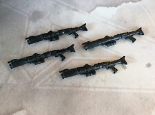 HASBRO STAR WARS ROTS CLONE TROOPER ACTION FIGURE ( RIFLE WEAPON PART LOT )