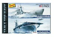 Lindberg   1/1200 Tabletop Navy: USS Intrepid Aircraft Carrier & North C  LIN419