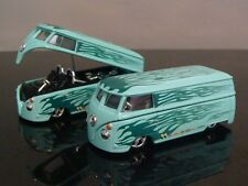 Mooneyes Equipped 1967 67 VW Volkswagen Drag Bus 1/64 Scale Limited Edition K