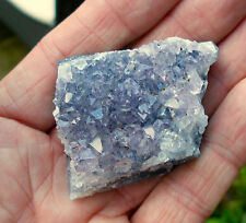 1 x BRAZIL AMETHYST  DRUZY GEODE CRYSTAL 40mm to 50mm GIFT BAG & ID CARD