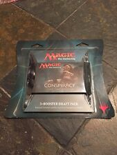 Magic The Gathering Conspiracy Take The Crown 3-Booster Draft Pack BN!