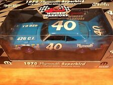 '70 #40 Pete Hamilton Plymouth Superbird Winged Warriors (1 of 1500)  1/18 Scale