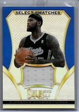 DeMARCUS COUSINS 2013-14 PANINI SELECT SWATCHES PURPLE GAME USED JERSEY#/25