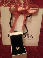 Genuine Disney Pandora Mickey Mouse 60th D60 Anniversary Charm With Box & Bag!