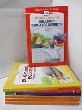 GUILLERMO CABALLERO DEFENSOR - CROMPTON Graded Spanish Literature Libros Espanol
