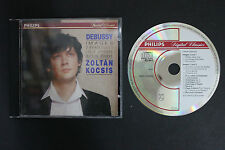CD: Zoltan Kocsis DEBUSSY Images 2 Arabesques Berceuse Heroique 1990 Philips