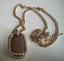 Gold finish hip hop bling rapper style fashion pendant(charm) with chain