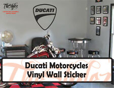 Ducati Motorcycles Company Vinyl Wall Sticker