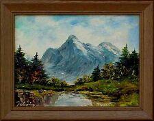 Top Gemälde, Expressionist, Alpensee, signiert xxxxxxxxxxx