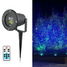 SUNY NATALE NATALE A TEMA Outdoor LED Verde Laser Luce Proiettore impermeabile f