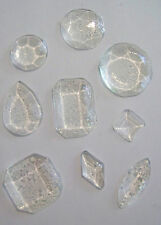 Pack of 14 Edible Clear Sugar Isomalt Cake Cupcake Jewels Diamond Decoration