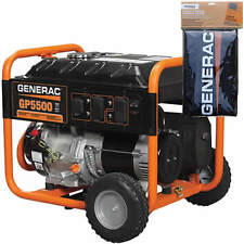 Generac GP5500 - 5500 Watt Portable Generator with Cover