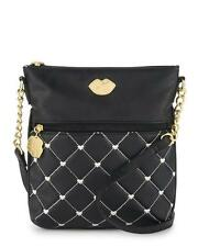 New Betsey Johnson Luv Betsey Quilted Dot Heart Crossbody Women's Bag