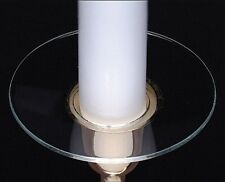 Biedermann & Sons Bobeche Plain Glass Candle Holder, Set of 4 (M100)
