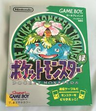 Nintendo Game Boy Pokemon Green