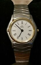 Ebel Wave watch 1911 two tone 18k gold