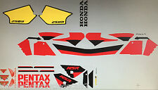 HONDA NSR250 NSR250SP PENTAX DECAL SET