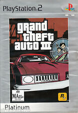 GRAND THEFT AUTO III PlayStation 2 Game  PS2
