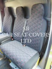TO FIT A RENAULT MASTER VAN, 2012, SEAT COVERS, BRICK SINGLE & DOUBLE