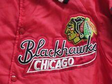 * Chicago Blackhawks Starter Bomber chaqueta * hockey * estados unidos * NHL retro * * talla: m * Tip Top