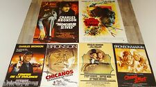 charles bronson lot collection 12 affiches cinema