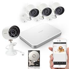Zmodo 4CH 720P Netzwerk sPOE Überwachungskamera SET Außen Überwachungssystem 1TB