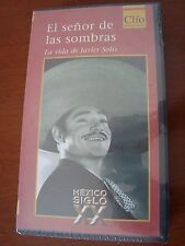 JAVIER SOLIS biografia biography VHS Tape cinta year 2000 Los 3 gallos MEXICO