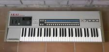 AKAI X7000 Sampling Keyboard 12-bit vintage sampler in box new!