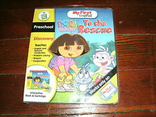 Leap Frog My First Leap Pad Dora to the Rescue  VG in Package