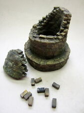 1/35 SCALA distrutto industriale CAMINO SMOKE STACK-ceramica diorama accessorio