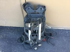 Drager PSS7000 sentinel 4500psi SCBA pack frame harness with PASS NO Mask