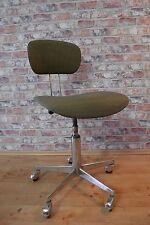 Industrie Arbeitsstuhl Werkstattstuhl Schreibtischstuhl 50er Jahre