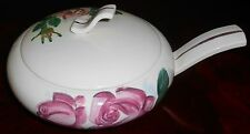 1940s Red Wing LEXINGTON ROSE PATTERN Covered Casserole