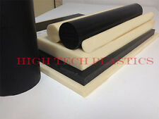 """.060"""" x 12"""" x 48"""" Black Color ABS Plastic Sheet Hair Cell Finish"""