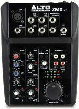 NEW Alto Professional Zephyr ZMX52 5 Channel Portable Audio Mixer