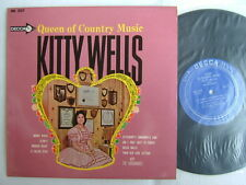 KITTY WELLS QUEEN OF COUNTRY MUSIC / NM MINT- CLEAN VINYL / JAPAN 10INCH