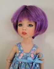 Monique Bubbles Wig 6/7 for Little Fee Lati Dollzone Iplehouse YoSD Leeke Purple