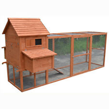 X-Large 300*150*150CM  Chicken Coop Hen house Chook Hutch Cage With Big Run T052