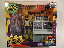 "1966 BATMAN CLASSIC TV SERIES 6"" FIGURE TO THE BATCAVE ADAM WEST +15 ACCESSORIES"