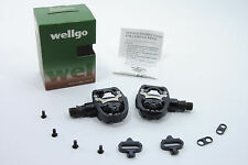WELLGO W-44 CLIPLESS/FLAT DUAL SIDE SPD PEDALS & CLEATS