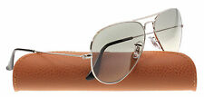 NEW Ray Ban Sunglasses RB 3025 AVIATOR Silver 003/32 55mm