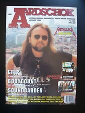 Aardschok Magazine Dutch January 1994 Metallica Body Count Soundgarden Sepultura