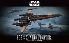Poe's X-Wing Fighter Modellbausatz 1/72 von Bandai, Star Wars, neu & OVP