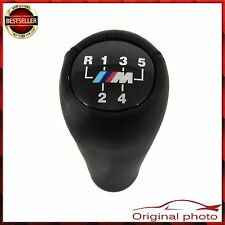 BLACK 5 SPEED GEAR SHIFT KNOB BMW E30 E34 E36 E39 E46 M TECH TOP QUALITY EQ