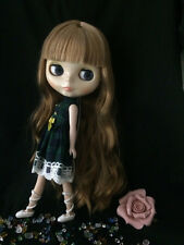 "12""Neo Blythe Doll from Factory Transparent skin  Includes Dress&Shoes J012"